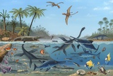 Jurassic Landscape  Artwork