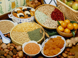 Selection of Pulses  Nuts And Dried & Fresh Fruits