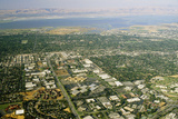 Aerial View of Silicon Valley