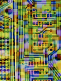 Abstract Image of a Circuit Board