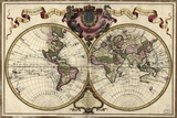 Map of the World  1720
