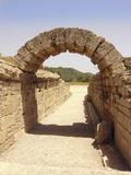 Ancient Olympia Stadium Entrance