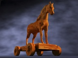 Trojan Horse  Computer Artwork