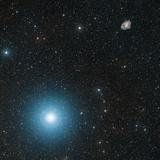 Crab Nebula And Zeta Tauri Star