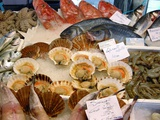 Seafood on Sale At a Market