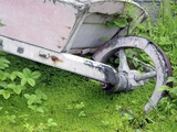 Abandoned Wheelbarrow