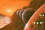 Martian Colony  Artwork