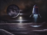 Manned Mission To Charon  Artwork