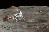 Apollo 16 Lunar Rover  Artwork