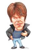 Brian Cox  Caricature