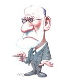 Sigmund Freud  Caricature