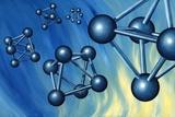 Octahedral Molecular Models  Artwork