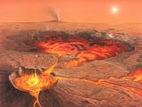 Martian Volcanos