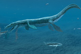 Mosasaurus Marine Reptile