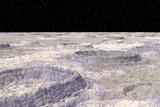 Surface of Callisto  a Jovian Moon