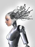 Female Cyborg  Artwork