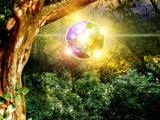 Glowing Ball UFO