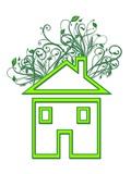 Eco-friendly House  Conceptual Image
