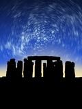 Star Trails Over Stonehenge