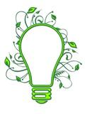 Eco-friendly Light Bulb  Conceptual Image