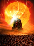 End of the World In 2012 Conceptual Image