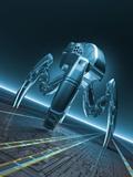 Nanorobot  Conceptual Artwork