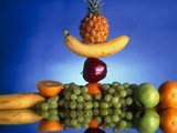 Selection of Fruit  Part of a Healthy Diet