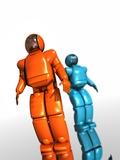 Humanoid Robots  Artwork