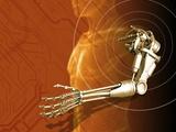 Prosthetic Robotic Arm  Computer Artwork
