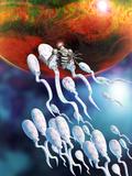 Medical Nanorobot on Sperm Cell