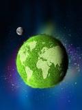 Green Planet  Conceptual Artwork