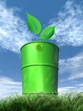 Green Fuel  Conceptual Image