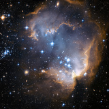 Starbirth Region NGC 602 Papier Photo par Hubble Heritage