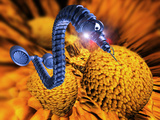 Nanorobot Attacking Cancer Cell