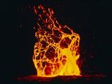 Lava Flow From Kilauea Volcano