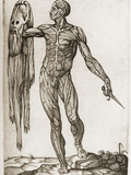 Man Holding a Dagger And His Skin