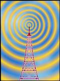 Computer Image of Radio Transmission