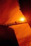 Oil Refinery Gantry