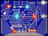 Computer Artwork Representing a Circuit Board