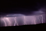 Lightning In New Mexico  USA