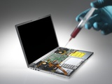Computer Virus  Conceptual Image