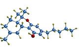 THC Cannabis Drug Molecule