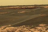 Mars Surface  Opportunity Rover Image