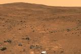 Martian Landscape  Spirit Rover Image