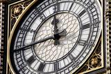Big Ben Clock Face  London  UK
