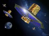 Darwin Infrared Space Telescope  Artwork