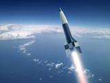 First V-2 Rocket Launch  Artwork
