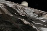 Jupiter From Ganymede  Artwork
