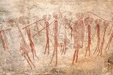 Cave Painting: Kondusi Stick Dance  Tanzania