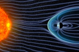 Earth's Magnetosphere  Artwork